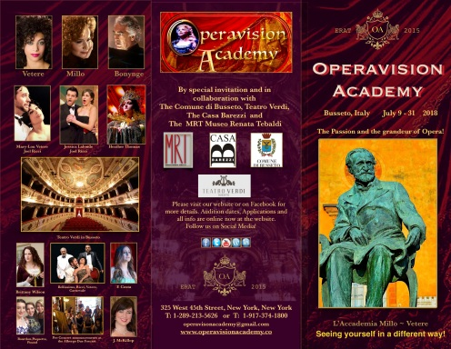 Operavision Brochure 2018